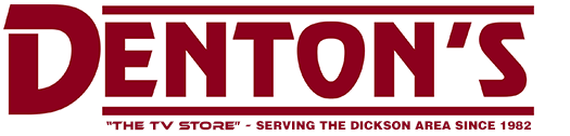 Denton's TV Store Logo